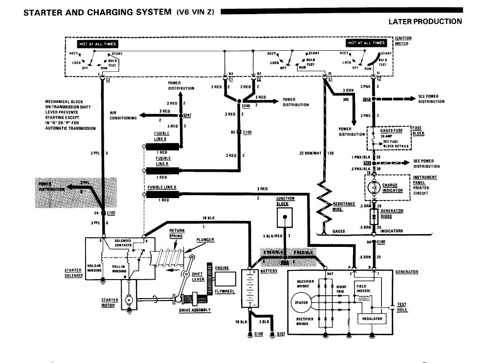 g body fuse box schematics wiring diagrams u2022 rh seniorlivinguniversity co 2007 Ford F-150 Power Window Wiring Diagram Ford Mustang Window Wiring Diagram